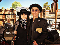 With Teddy Quinn at the Joshua Tree Music Fest