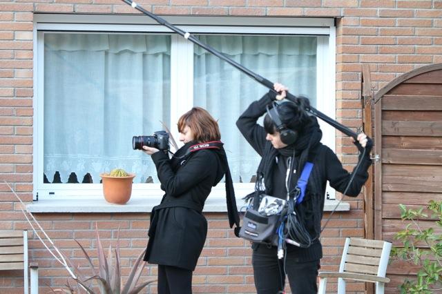 Sound recoring on set (2011)