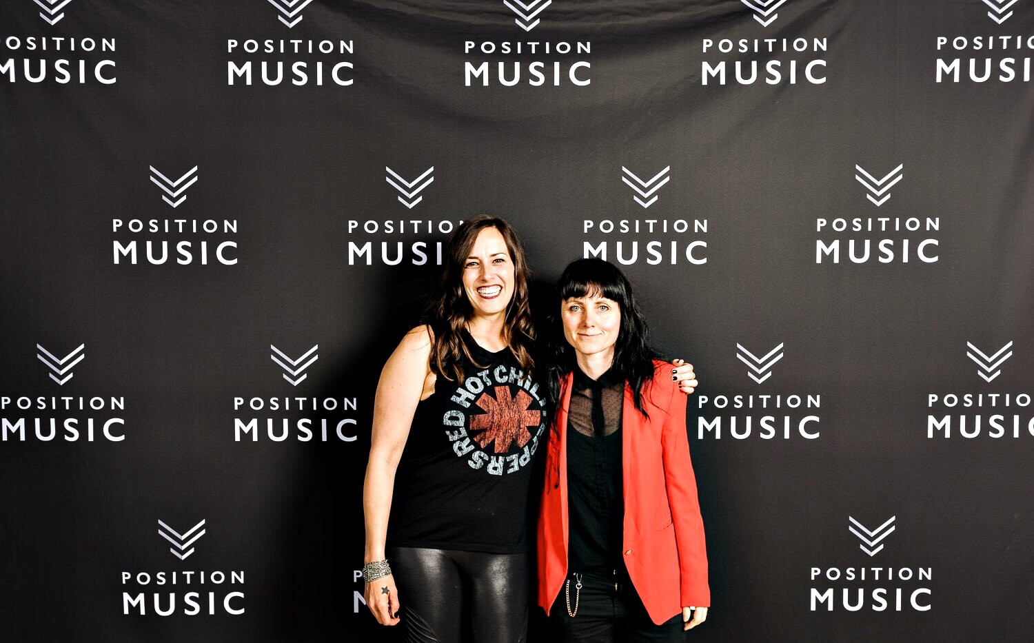 with Emily Weber for Positin Music's anniversary