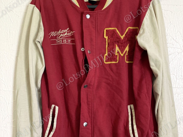 Limited Edition Michael Jackson This Is It Thriller Jacket
