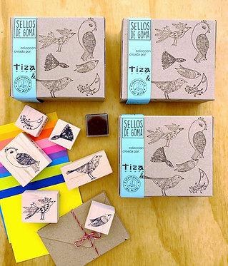 SELLOS Colección Aves