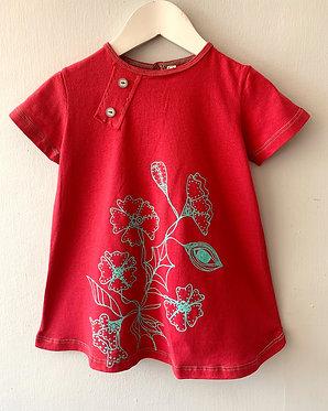Vestido COCOCHA rojo