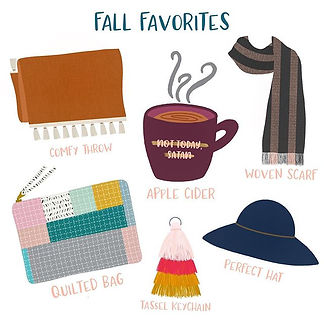 Fall is in full swing & I couldn't be ha