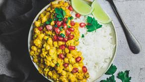 Recette : curry de pois chiches au lait de coco