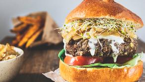 Recette : burger végétarien chèvre & miel aux lentilles vertes