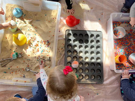 Why Messy Art Play Matters