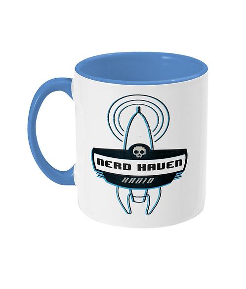 Nerdhaven Radio Logo 2-Tone Mug