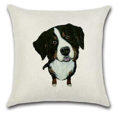Image of Border Collie Dog Cushion Cover
