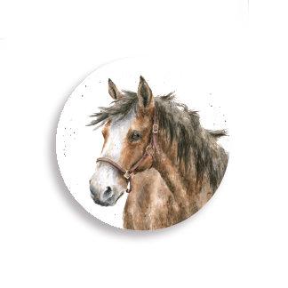 Image of Horse Fridge Magnet by Wrendale Designs