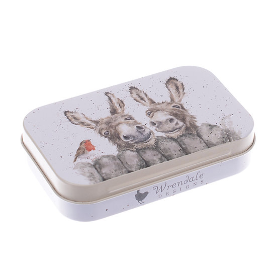 Image of Donkey Mini Gift Tin by Wrendale Designs