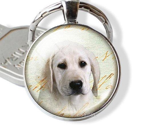 Image of Golden Labrador Retriever Dog Keyring
