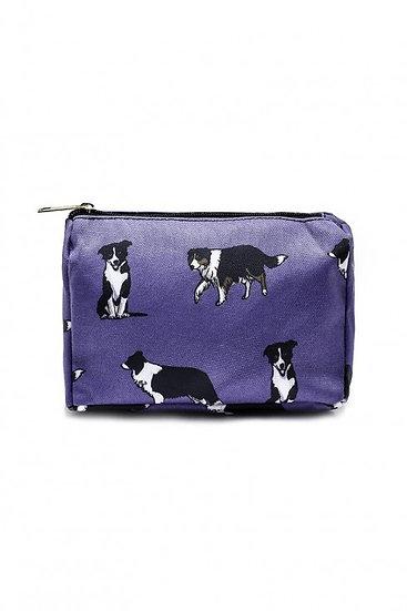 Border Collie Bag Collection Cosmetic Wash Bag