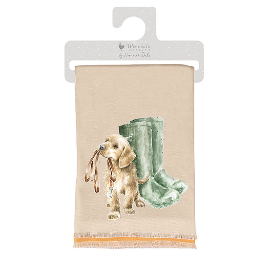 Image of Hopeful Dog Winter Scarf by Wrendale Designs