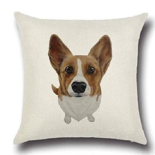 Image of Corgi Puppy Dog Cushion Cover