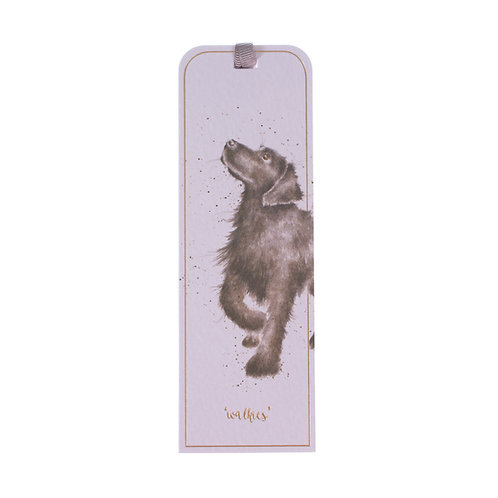 Image of Wrendale Designs Walkies Labrador Dog Bookmark