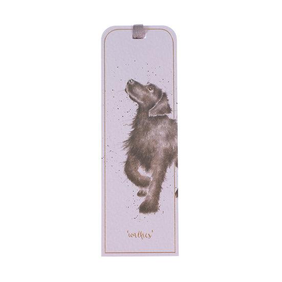 BM018 Wrendale Designs Walkies Dog Bookmark