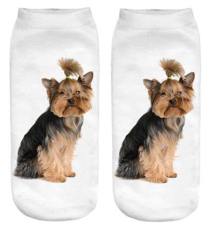 Yorkshire Terrier Dog Trainer Socks
