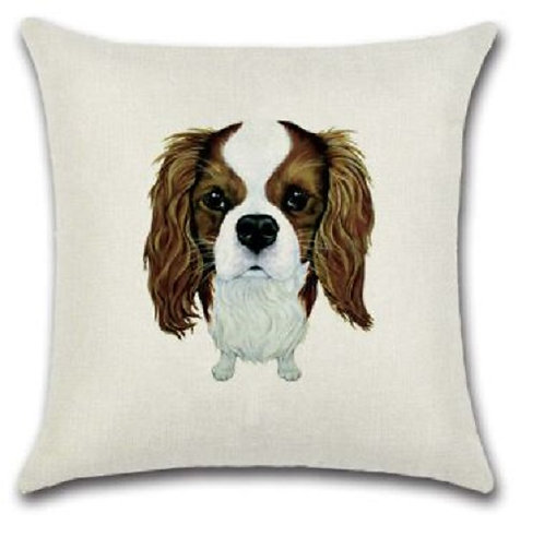 Image of King Charles Dog Cushion Cover