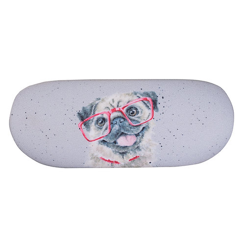 Image of Pug Glasses Case by Wrendale Designs