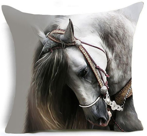 Image of Horse Pony Print Cushion Covers