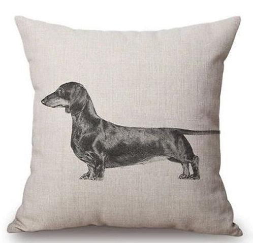 Image of Dachshund Sausage Dog Cushion Covers