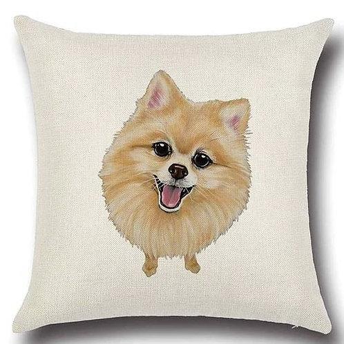 Image of Pomeranian Dog Cushion Cover