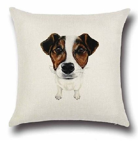 Image of Jack Russell Dog Cushion Cover
