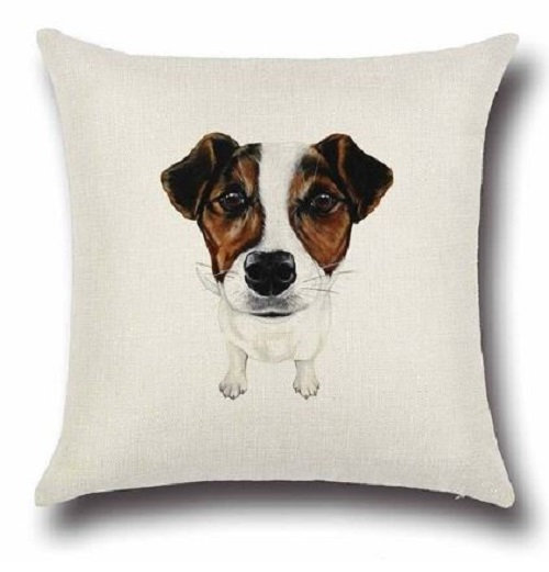 Jack Russell Terrier Dog Cushion Cover
