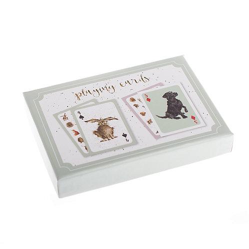 Image of Wrendale Animal Playing Cards Gift Set