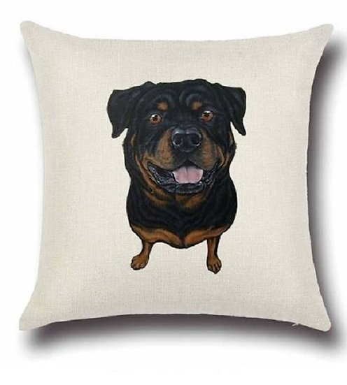 Rotweiller Dog Cushion Cover