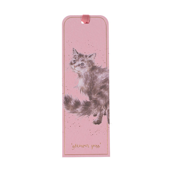 Image of Cat Bookmark Just Purrfect by Wrendale Designs