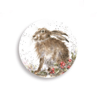 Hare Fridge Magnet by Wrendale Designs