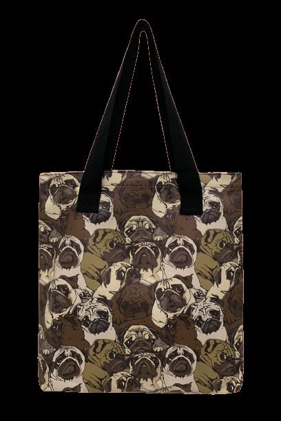 Image of Pug Dog Shopper Bag