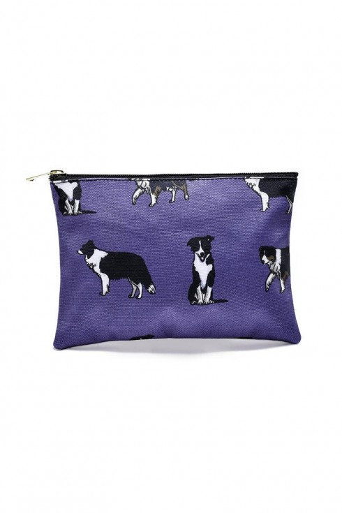 Image of Border Collie Small Cosmetics Bag