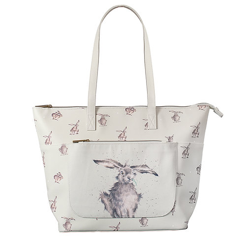 Image of 'Leaping Hare' Everyday Bag by Wrendale Designs