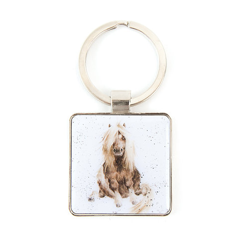 Image of Gloria Horse Keyring by Wrendale Designs