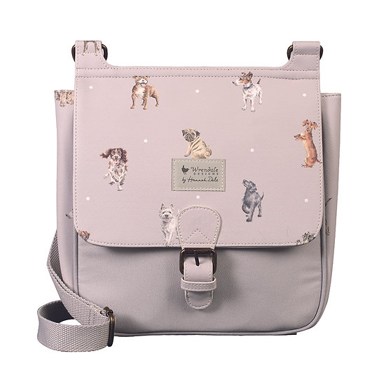 Image of Front of A Dog's Life Satchel by Wrendale Designs