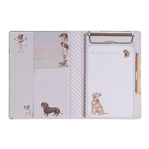 Image of A Dog's Life Notebook by Wrendale Designs