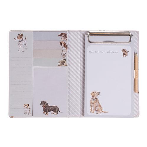 Image of Wrendale 'A Dog's Life' Sticky Notebook