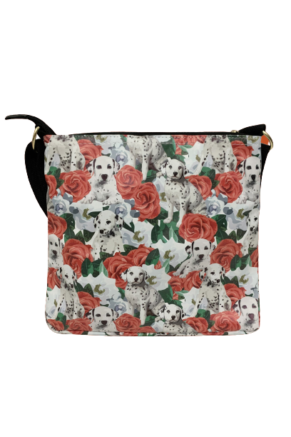Image of Dalmatian Dog Cross Body Messenger Bag