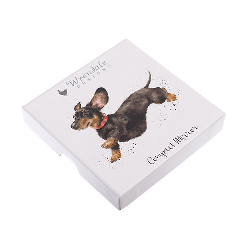 Image of Dachshund Dog Mirror by Wrendale Designs