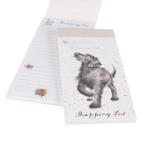 Image of Wrendale Designs Walkies Labrador Dog Magnetic Shopping Pad
