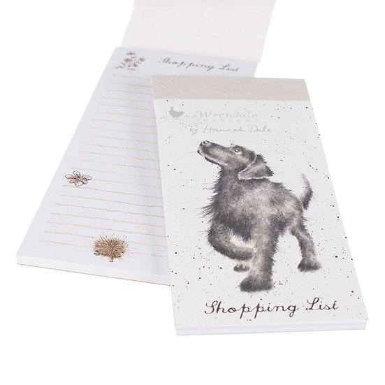 SP014 Wrendale Designs Labrador Magnetic Shopping List