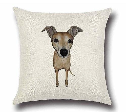 Image of Greyhound Dog Cushion Cover