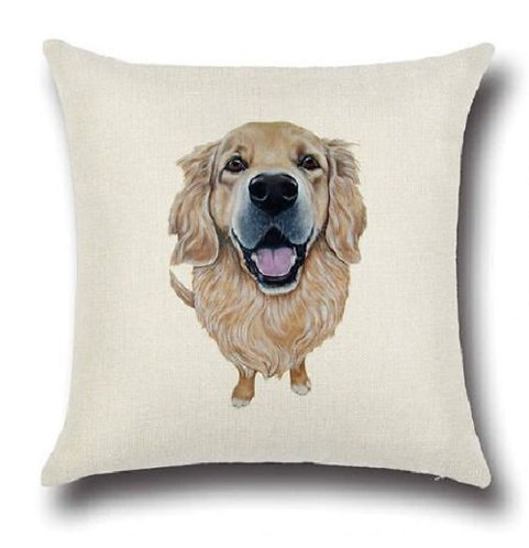 Image of Golden Retriever Cushion Cover