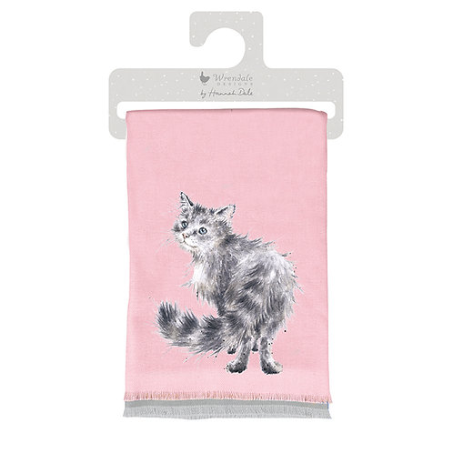 Image of Glamour Puss Winter Scarf by Wrendale Designs