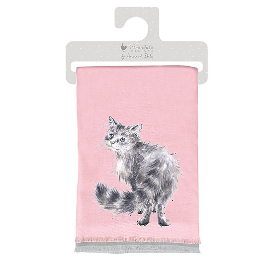 Image of Just Purrfect Cat Winter Scarf by Wrendale Designs