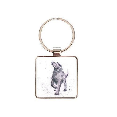 Image of Walkies Dog Keyring by Wrendale Designs