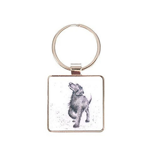 Wrendale Designs 'Walkies' Puppy Dog Keyring