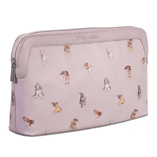 Image of Woof Large Cosmetic bag by Wrendale Designs